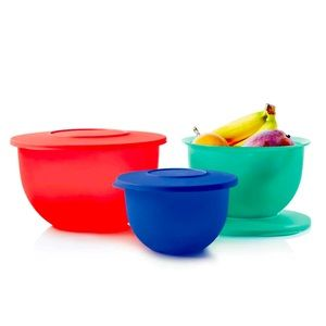 Tupperware Impressions Classic Bowl Set